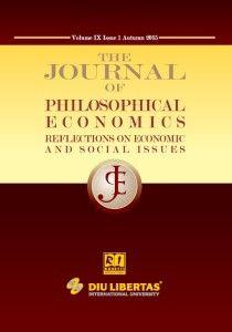 Journal of Philosophical Economics